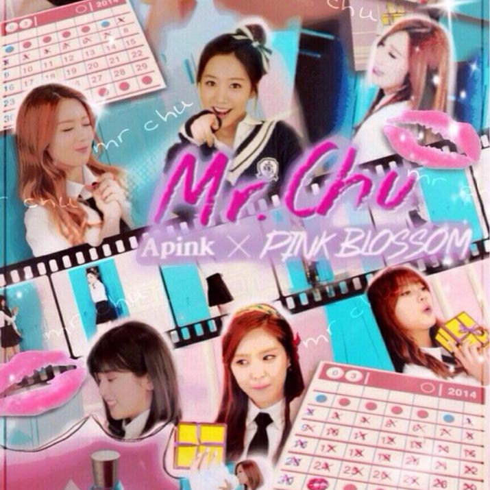 A pink「Mr. Chu」歌詞で学ぶ韓国語