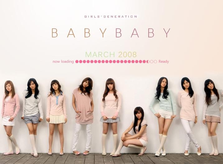 少女時代「Baby Baby」歌詞で学ぶ韓国語