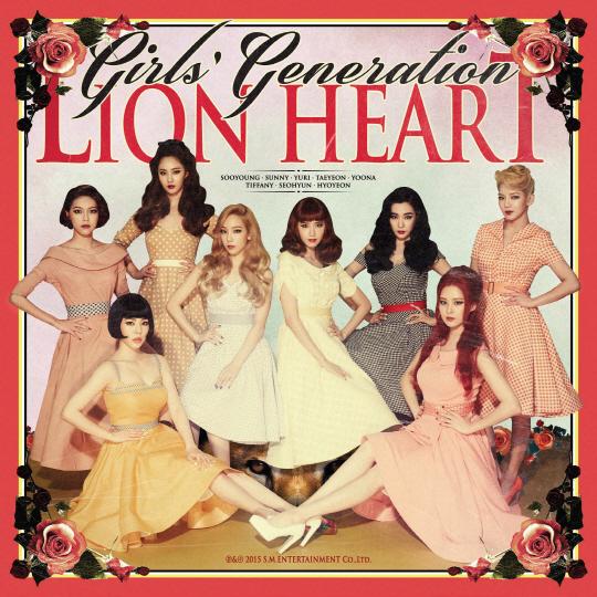 少女時代「Lion Heart」歌詞で学ぶ韓国語