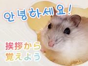 韓国語・ハングル勉強 挨拶から覚えよう♪